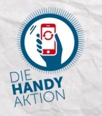 Das Logo der Handy-Aktion