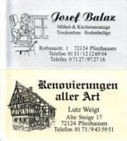 Josef & Lutz    Renovierungen aller Art