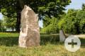 Sitzbank beim Gedenkstein 650-Jahre-Rübgarten im Gewann Gäukenschnabel
